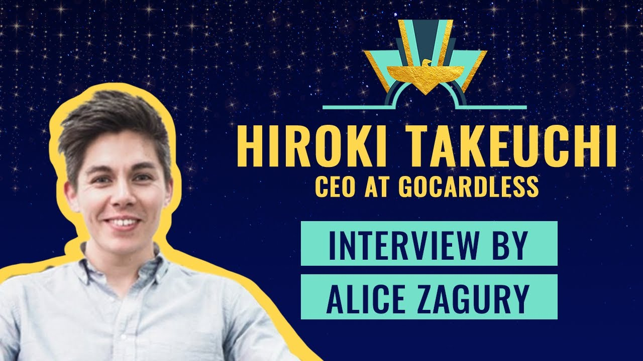 Interview with Hiroki Takeuchi, Co-Founder & CEO of GoCardless