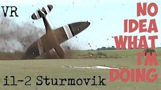 IL-2 STURMOVIK (VR) SPITFIRE Mk IX - No idea what im doing