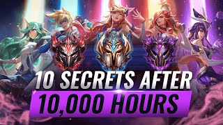 10 CRUCIAL Secrets I Learned After 10,000 Hours of League of Legends - Season 10