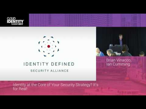 6/20 | Lunch & Learn: Identity at the Core of Your Security Strategy? It's for Real! | CIS 2017