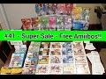 Video Game Pickups #41 - Mega Sale Fred Meyers & Free Amiibos Cheap 3DS games - Kacy Da Game Nerd