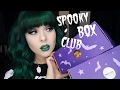 My First SPOOKY BOX CLUB Unboxing!