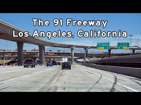 The 91 Freeway Los Angeles California
