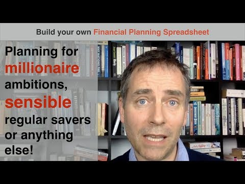 Build your own Financial Planning Spreadsheet (part 1)