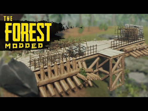 STORAGE AREA! The Forest Modded S2 Episode 17