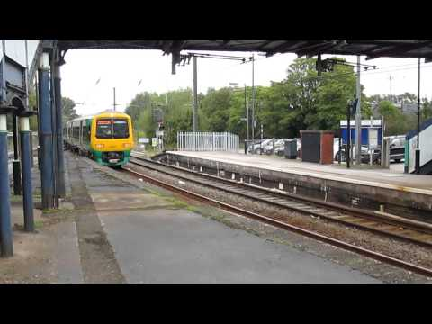Trains in the West Midlands Sept 2014