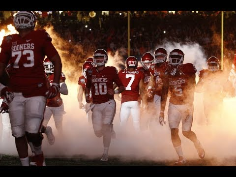 2017-18 Oklahoma Sooners Pump Up HD