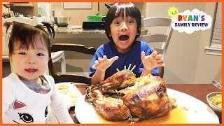 Ryan's Family Review and Ryan ToysReview Thanksgiving Special 2017