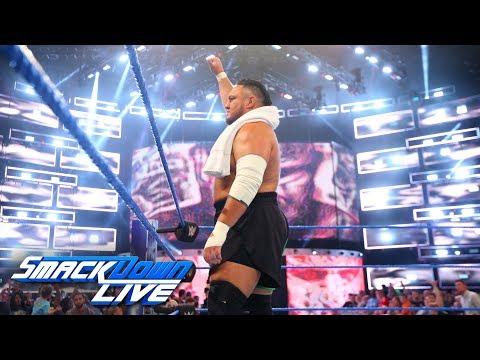 Samoa Joe sends an intimidating SummerSlam message to AJ Styles: SmackDown LIVE, July 31, 2018