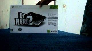 Unboxing Dj Hero 2 Xbox 360