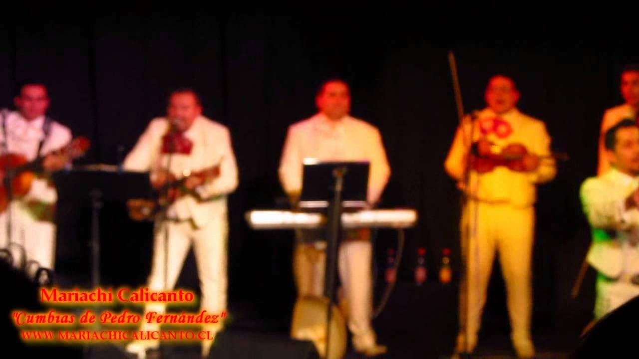MARIACHI CALICANTO - CUMBIAS DE PEDRO FERNANDEZ - YouTube