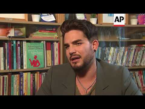 Adam Lambert Offers Advice At LGBT Youth Centre In London