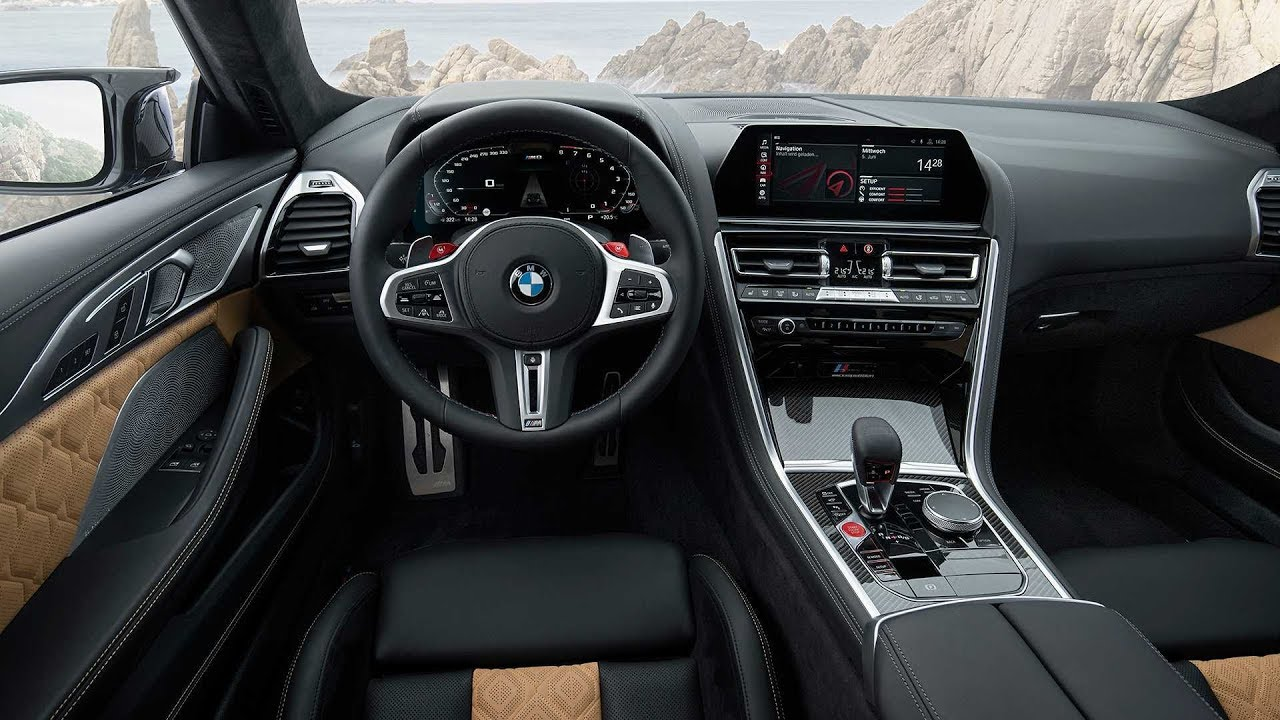 2020 Bmw M8 Coupe Interior