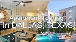 DALLAS APT TOURING! | ALL BUDGET FRIENDLY!