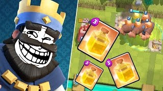 HEILZAUBER TROLL IN ARENA 2! || CLASH ROYALE || Let's Play CR [Deutsch German]