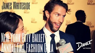 Dance Network | NYC Ballet Annual Fall Fashion Gala | James Whiteside