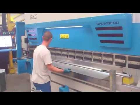 Fast bending skillful operator with Rico Press Brake - YouTube