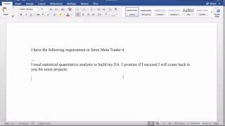 MT4 EA in forex trading? Useful Quant stats replacement