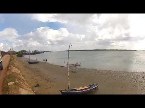 Saindo Da Salina Em Areia Branca Rio Grande Do Norte Litoral Potiguar.