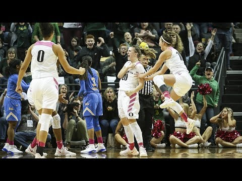 Highlights: No. 8 Oregon women\'s basketball grits out win over No. 10 UCLA