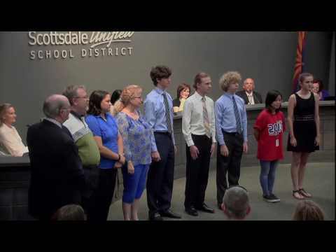 Scottsdale Unified School District Regular Meeting of Governing Board - 4/25/17