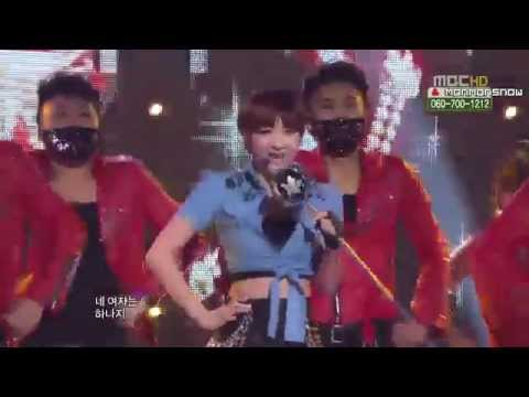 [LIVE] 111203 Seo In Young - Oh My Gosh @ MUSIC CORE