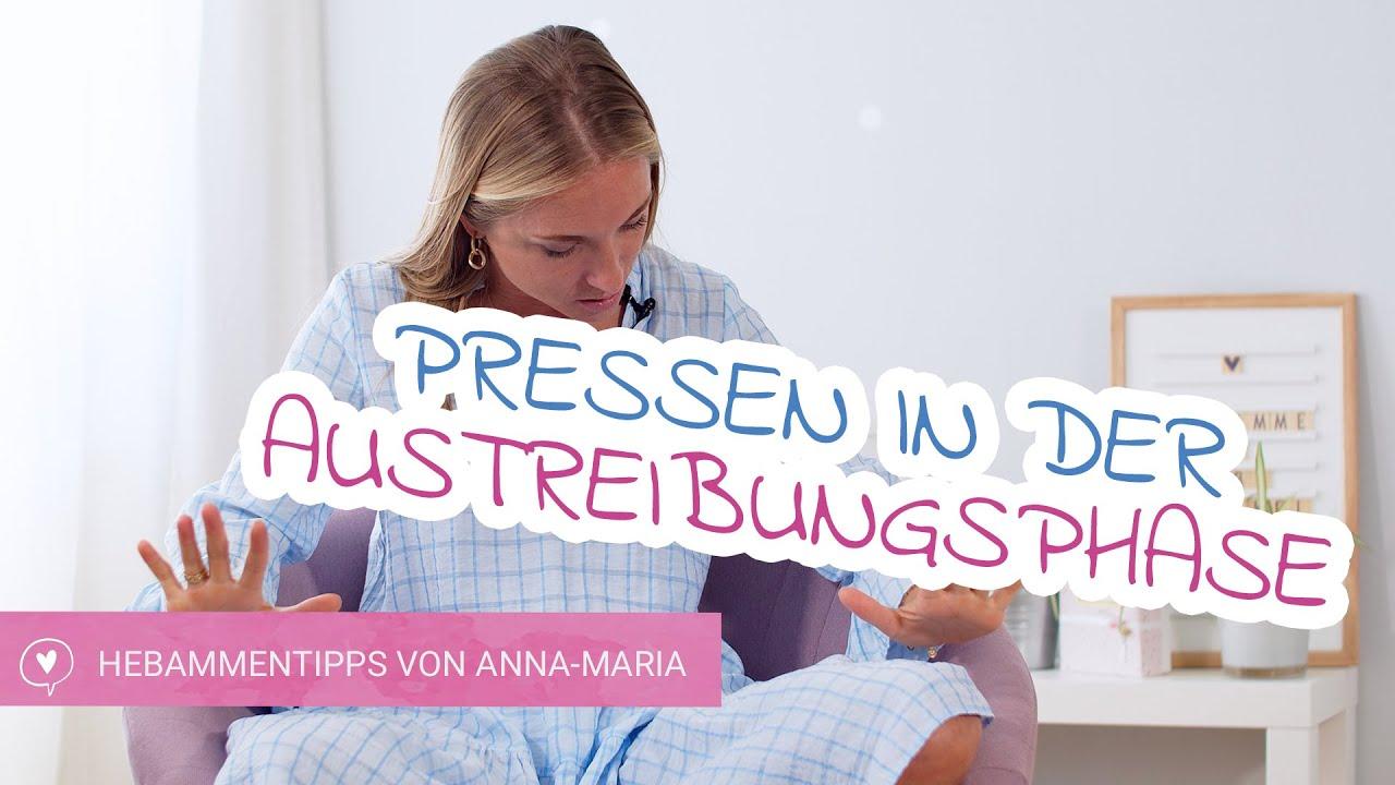 Pressen in der Austreibungsphase | babyartikel.de