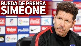 Sevilla - Atlético de Madrid | Rueda de prensa previa de Simeone | Diario AS