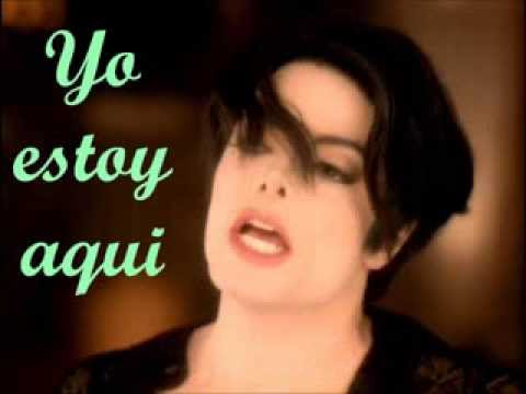 Michael Jackson You Are Not Alone en Español con Letra
