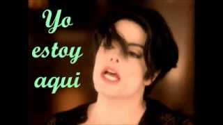 Michael Jackson -You Are Not Alone en Español con Letra