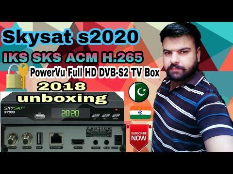 Skysat S2020 HD satellite receiver Pakistan unboxing