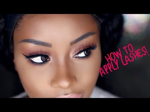 a6f803eb90a How to Apply False Eyelashes | 3D Lashes | Makeupd0ll