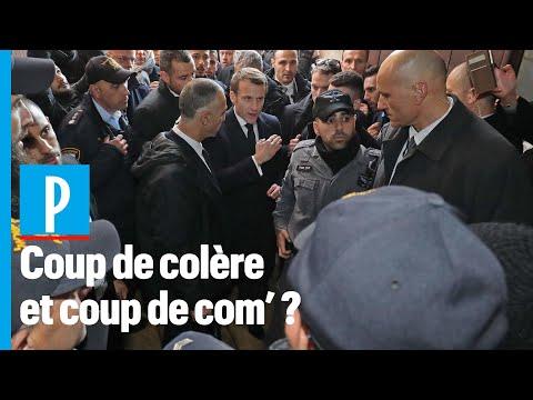 Colère de Macron