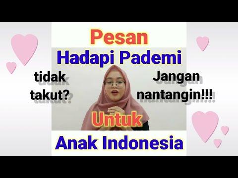 Pesan Guru Untuk Anak Indonesua Saat Pademi Corona Home
