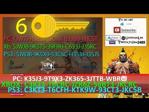 New SHiFT Code Alert ☢ 6 Golden Keys Borderlands 2 July ... Borderlands 2 Golden Key Shift Codes