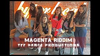DJ Snake - Magenta Riddim | Dance Choreography | TFF DANCE PRODUCTIONS