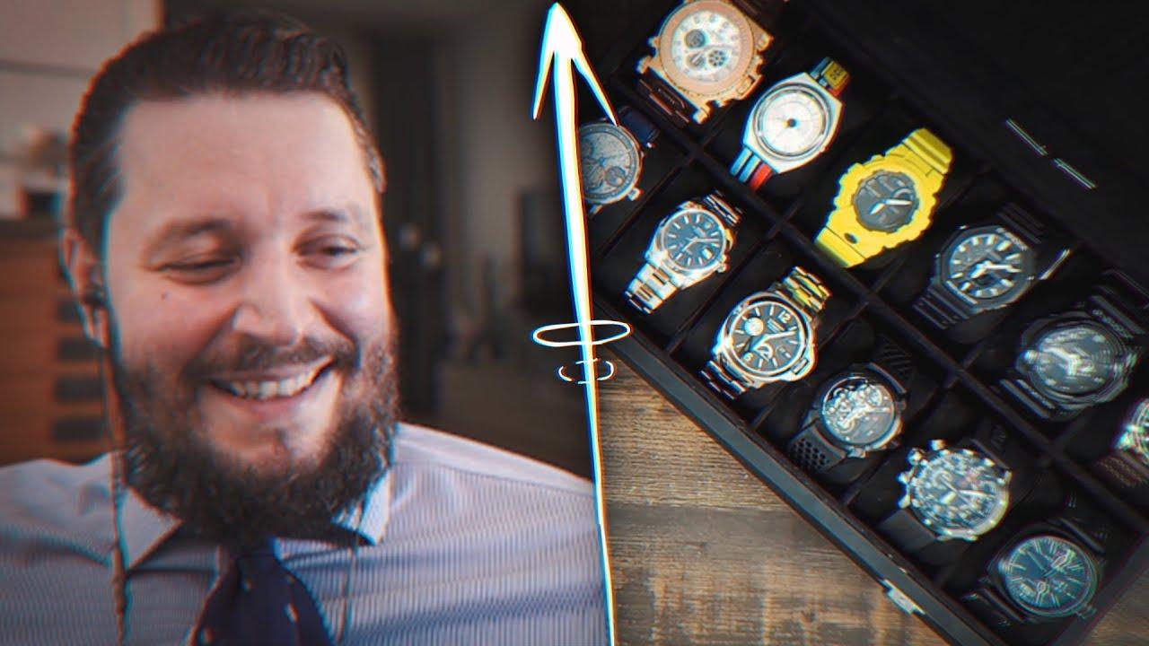 Marc Gebauer REAGIERT auf UHREN SAMMLUNG von Adam Swords😮😄 | Marc Gebauer Reaktion