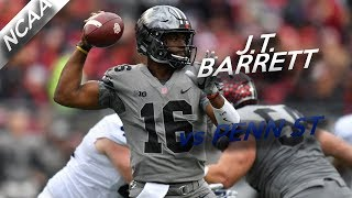 J.T. Barrett Highlights vs Penn State // 33/39 423 Total Yards, 4 TDs // 10.28.17