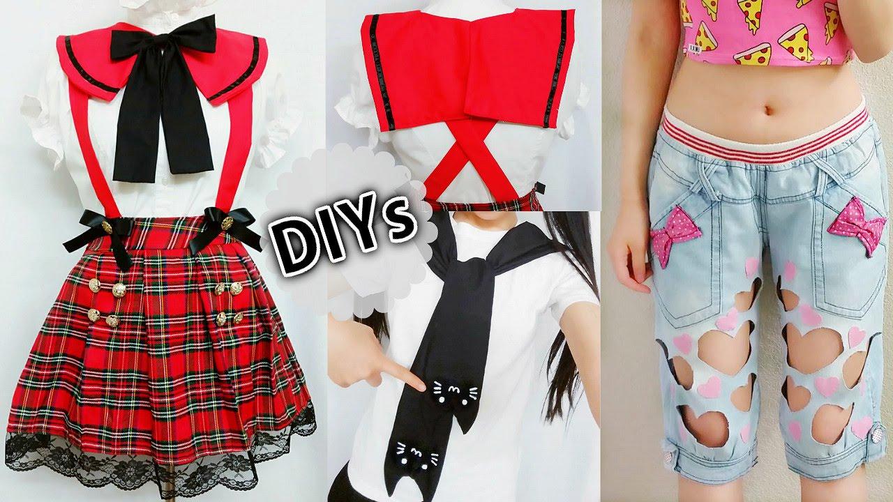 4 diy costumesclothes diy anime school uniform cat sleeve tie 4 diy costumesclothes diy anime school uniform cat sleeve tie neck t shirtsquare sailor collar youtube jeuxipadfo Images
