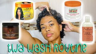 My TWA Wash Routine | Type 4 Natural Hair