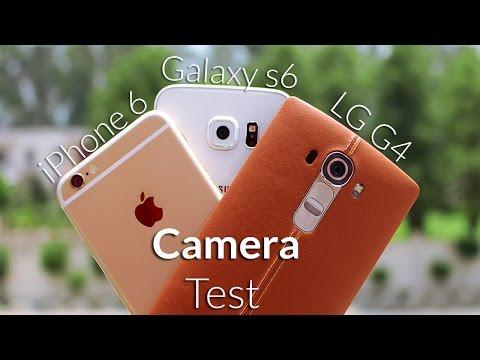 LG G4 vs Galaxy S6 vs iPhone 6 Camera Test