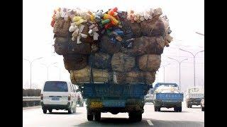 На каких грузовиках ездят в Китае.