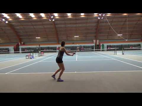 Georgia Kingi Tennis Recruitment Video