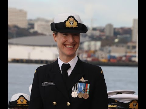 First Female Commanding Officer of an Offshore Patrol Vessel, HMNZS Otago.