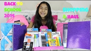 Back to School Supplies Haul!! Back to School  Sopping 2014 |B2cutecupcakes