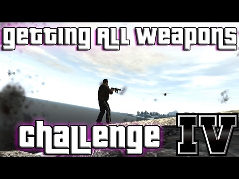 GTA IV - getting ALL weapons after the first mission (no cheats)