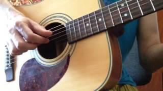 Песня из фильма Гостья из будущего на гитаре - Полет над Москвой на гитаре - Cover
