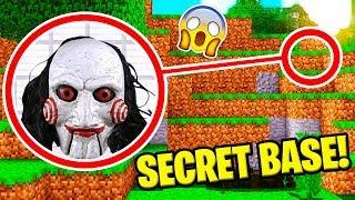 J'AI TROUVÉ LA BASE SECRETE DE JIGSAW SUR MINECRAFT !!