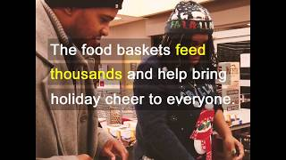 Holiday Food Basket Donations from Hupy and Abraham, S.C.