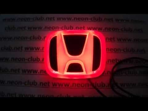 4D Honda accord seat covers honda Асcord tuning - the best of car accessories lights Red at Rear